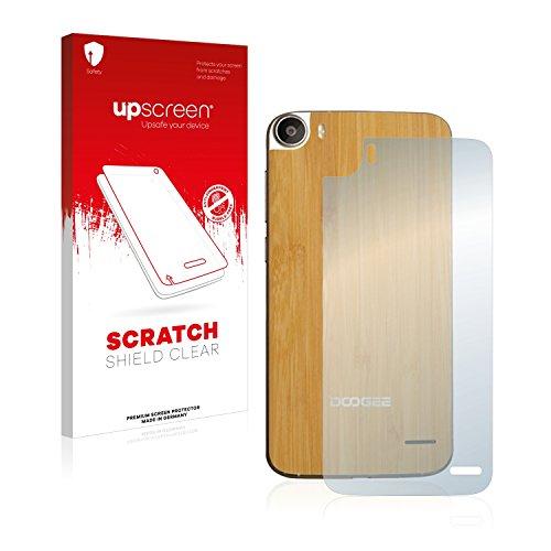 upscreen Schutzfolie kompatibel mit Doogee F3 Pro (Rückseite) – Kristallklar, Kratzschutz, Anti-Fingerprint