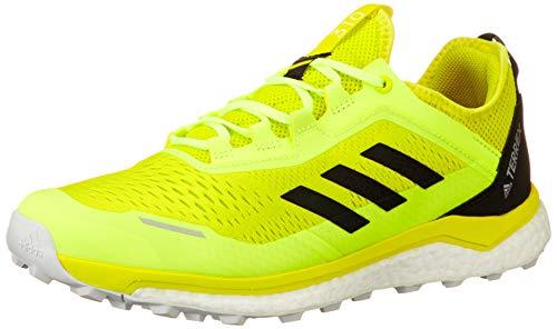 adidas Terrex Agravic Flow, Zapatillas de Trail Running Hombre, AMAACI/NEGBÁS/AMALRE, 43 1/3 EU