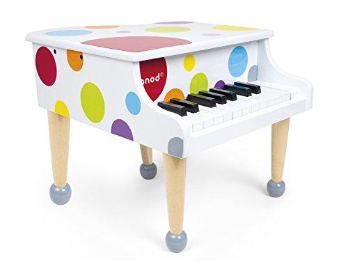 Janod - J07627 - Piano à Queue Confetti Bois