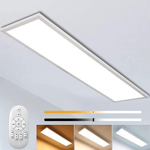 Panel sufitowy LED z możliwością ściemniania, 120 x 30 cm