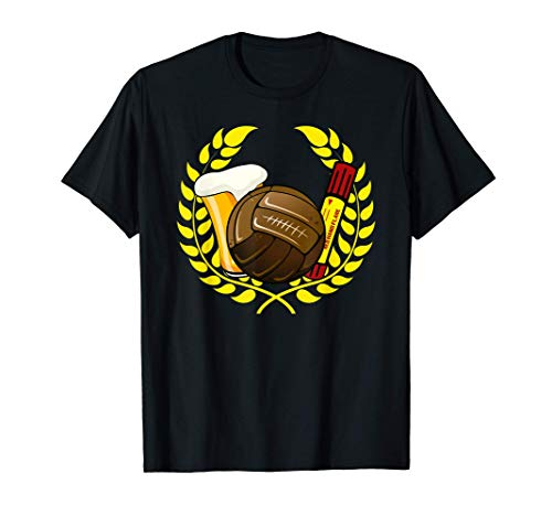 Ultras Laurel Wreath Fútbol Pyro Beer Camiseta