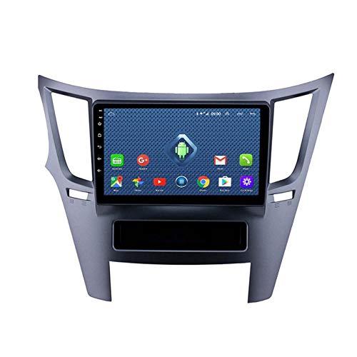Android 8.1 Radio De Automóvil para Subaru Legacy Outback 2009-2014 Coche Estéreo GPS Navegación Touch Pantalla Coche Media Player Doble DIN Head Unit Support (Size:Ocho núcleos,Color:4G+WiFi:2+32G)