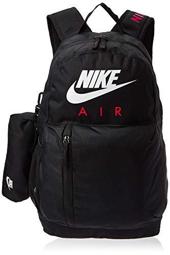 Nike Unisex-Kinder Y Nk Elmntl Bkpk-GFX Rucksack, Schwarz (Black/Black/White), 15x24x45 Centimeters (W x H x L)