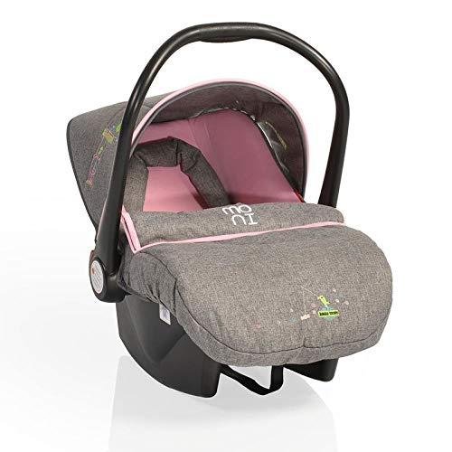 MONI LB321 Kindersitz Babytravel Gruppe 0+ (0-13 kg) LB321 mit Sonnendach und Fußschutz, rosa