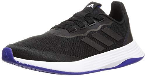 adidas QT Racer Sport, Zapatillas de Running Mujer, NEGBÁS/NEGBÁS/SEMDES, 36 2/3 EU
