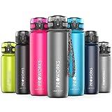 Proworks Leak-Proof Water Bottle | Fast Flow Swing Top Sports Flask ideal