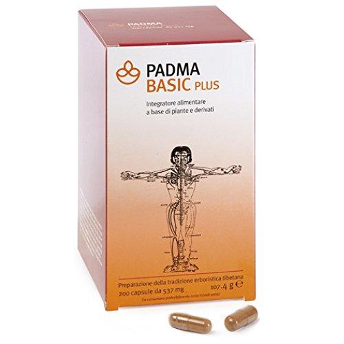 Padma Basic Plus Integratore Alimentare 200 Capsule