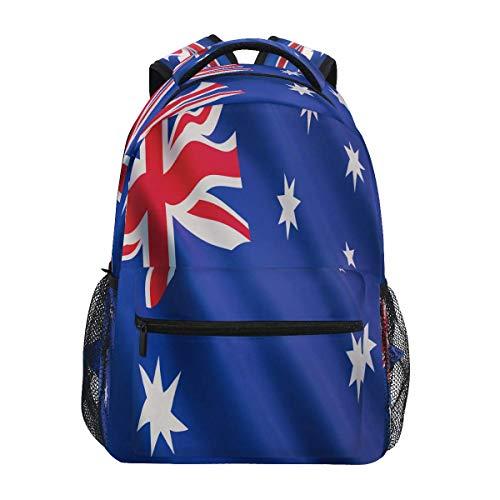Mochilas para El Tiempo Libre,Tour Al Aire Libre,Mochila Universitaria,Bolsa para La Escuela, Bandera De Australia