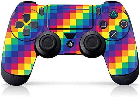 Controller Gear Authentic and Officially Licensed PS4 Controller Skin Pride Pixel PlayStation product image