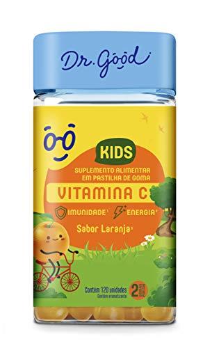 Vitamina C Kids Laranja 120 Gomas
