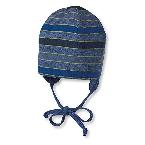 Sterntaler - Mütze Wende mütze Übergangsmütze Mädchen zum Binden und Ohrenschutz, rot - 4501705, Größe 35