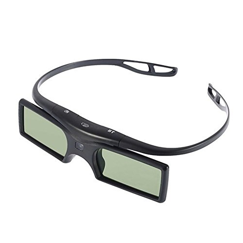 SaySure - Bluetooth 3D Active Shutter Glasses for Samsung for LG TV HDTV Blue-ray Player