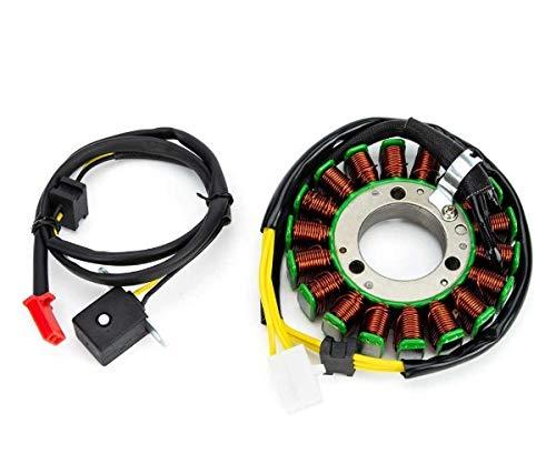 Alternador Estator Bobina Compatible con Kawasaki EN ER GPZ KLE 400 450 500
