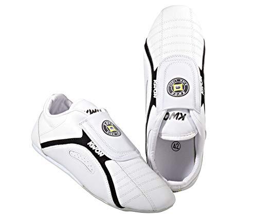 KWON Zapatos de Artes Marciales para Hombre Blanco