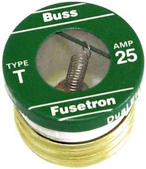 Bussmann Division 51122307 125V-25A Plug 21 Genuine Free Shipping - Count Max 82% OFF Fuse