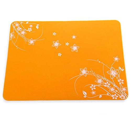 Pixnor Tapis de cuisson multifonction en silicone résistant à la chaleur (orange)