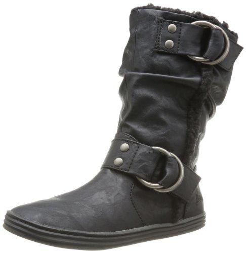 Blowfish Rhampa, Boots Femme - Noir (Black Relax), 36 EU