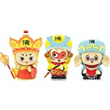 Candle Light West Travel Classic Q Version of The Character Model, by Head Variable face, can Make a Sound, Sun Wukong, Pig Eight Ring, Tang Monk (3 Costumes)