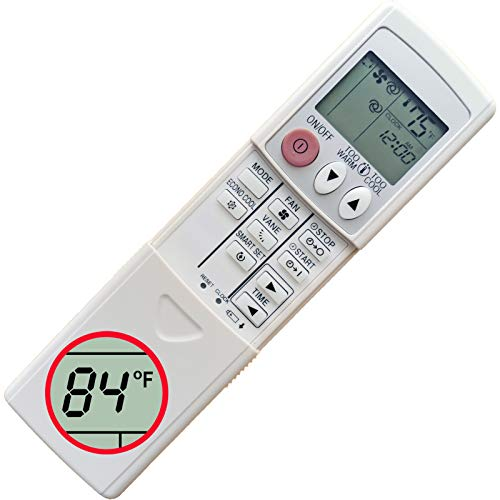 CHOUBENBEN Replacement Mitsubishi Electric Mr Slim Air Conditioner Remote Control MSZ-GE25VAD-A1 MSZ-GE35VAD-A1 MSZ-GE42VAD-A1 MSZ-GE50VAD-A1 MSZ-GE22VAD-A