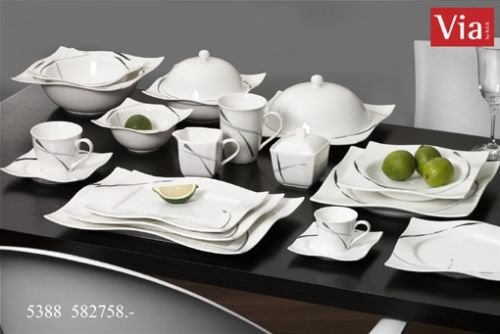 Via By R&B Geschirr-Serie Dacapo Material Espressotasse Dacapo