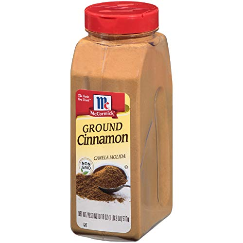 McCormick Ground Cinnamon, 18 Fl Oz (Pack of 1)