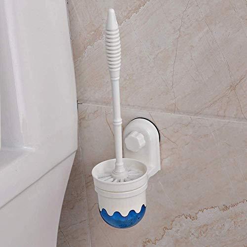 Cepillo de baño Cepillos de inodoro y soportes Aseos Aseo Cepillo de inodoro Conjunto Cepillo de inodoro Copa de succión Cepillo de inodoro Cepillo de baño Cepillo montado en la pared Cepillo de inodo