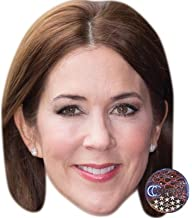 Crown Princess Mary of Denmark Celebrity Mask, Card Face and Fancy Dress Mask