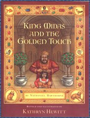 Library Binding King Midas and the Golden Touch Book