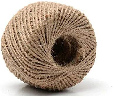 online shop 328 Feet price Natural Jute Twine 3 Gift String DIY Wrapping Rope Ply