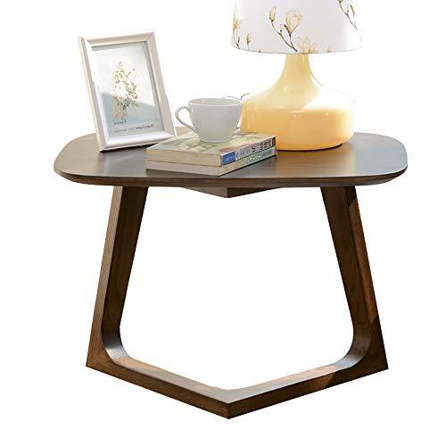 Accessoires pour lave-linges ZR- Tavolino in Legno Massello Stile Giapponese Divano Lato/Angolo Rovere Noce Nero Scrivania/Rack per Computer