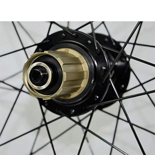 JIE KE Llanta de Bicicleta MTB Wheelset 26 27.5 29 Pulgadas Bicicleta Frente y Rueda Aleación de la aleación Mountain Disc Freno 7-11 Velocidad Cassette Flywheel Sellado COBRIBLES DE RODAMIENTO QR