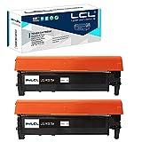 LCL Cartucho de tóner Compatible 117A W2070A (2 Negro) Reemplazo para HP Color Laser MFP 179fnw 178nw Color Laser 150 150nw 150a Color Laser MFP 178nwg 179fwg MFP 178nw 179fnw 150a 150w 150nw