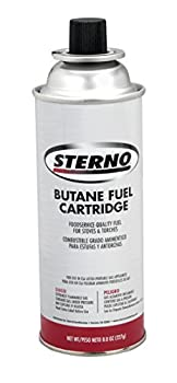 Sterno 50162 50130 8-Ounce Butane Fuel Cartridges 12-Pack