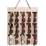 PACMAXI Sunglasses Storage Organizer, Wall Pocket Mounted by Sunglasses, Hanging Eyeglasses Storage Holder, Eyewear Display.