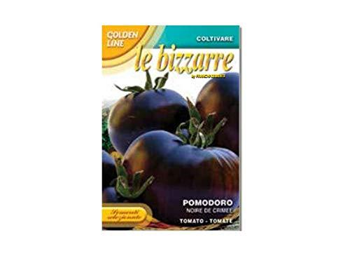 Bolsita con semillas de tomate negro de crimea para jardín y huerto