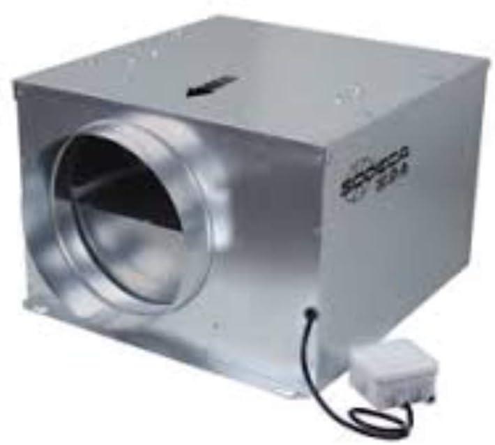 Sodeca 1112027 Extractor ventilación, Gris