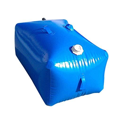 Sac de stockage d'eau flexible pliable et portable pour l'extérieur, Conteneur de stockage d'eau résistant à l'usure de grande capacité, Seau de stockage d'eau d'urgence résistant à la sécheresse