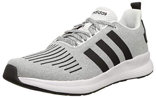Adidas Men's Beamers M FTWWHT/CBLACK Running Shoe-10 Kids UK (EW2592)