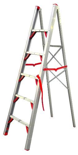 Telesteps 600FLS OSHA Compliant 6 ft Single sided folding step ladder (STIK)