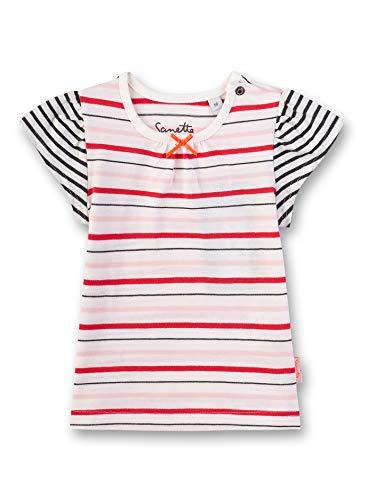 Sanetta Baby-Mädchen T-Shirt, Beige (Ivory 1829), 86 (Herstellergröße: 086)