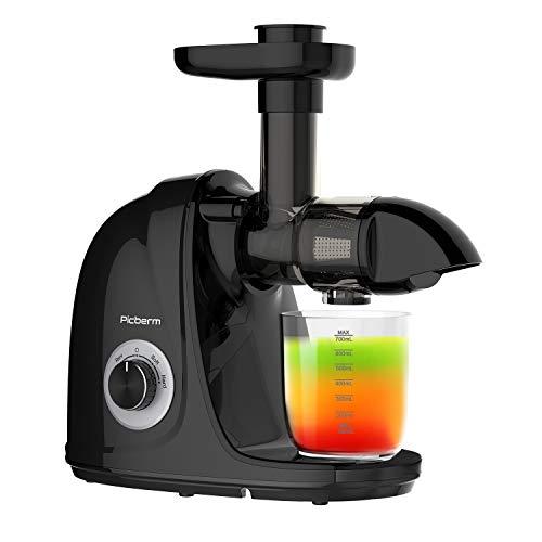 Juicer Machines, Picberm PB2110A Slow Masticating Juicer...