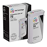 LD Remanufactured Ink Cartridge Replacement for HP 72 C9370A High Yield (Photo Black)