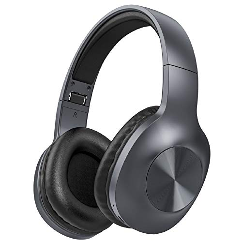 LETSCOM Bluetooth Headphones, 100 Hours Playtime Bluetooth 5.0...