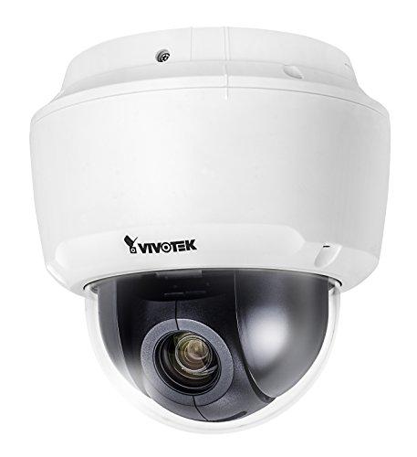 VIVOTEK sd9161de H Speed Dome Cámara IP, 2Mpx, Indoor, 18x Zoom óptica, PoE +, H.265Color Blanco