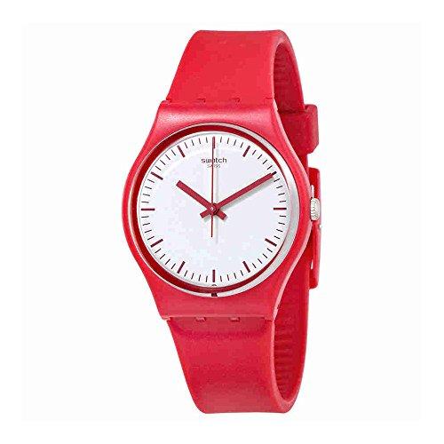 Swatch Puntarossa GR172 - Reloj de silicona para mujer
