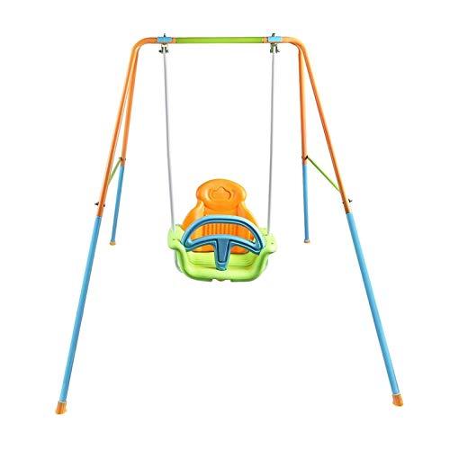 CCCMS Juego Set Swings for Kids Interior Outdoor Swing para niños pequeños Backyard Kids Swing Playset Children Niños Árbol Swing Swing Asiento Swing School para al Aire Libre