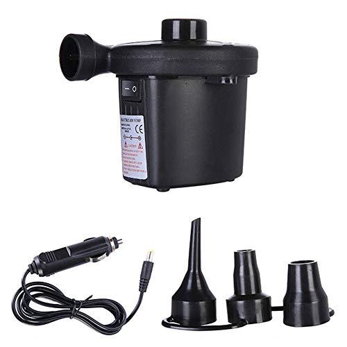 #N/D 12 V portátil bomba de aire eléctrica colchón barco coche auto bomba inflable para coche camping inflador