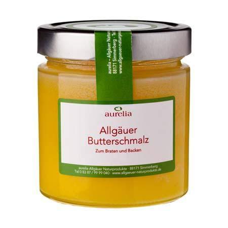 Aurelia Allgäuer Naturprodukte Butterschmalz 300g