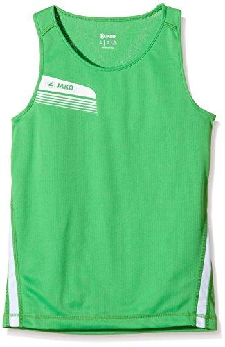 JAKO Athletico - Camiseta de Tirantes Multicolor Soft Green/Weiß Talla:Medium