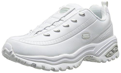 Skechers Sport Women's Premium-Premix Slip-On Sneaker,White,7 M US